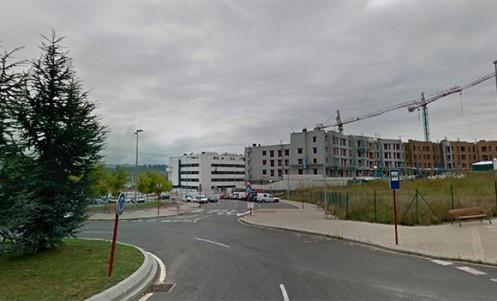 Urbanización Torresolo Leioa rotonda