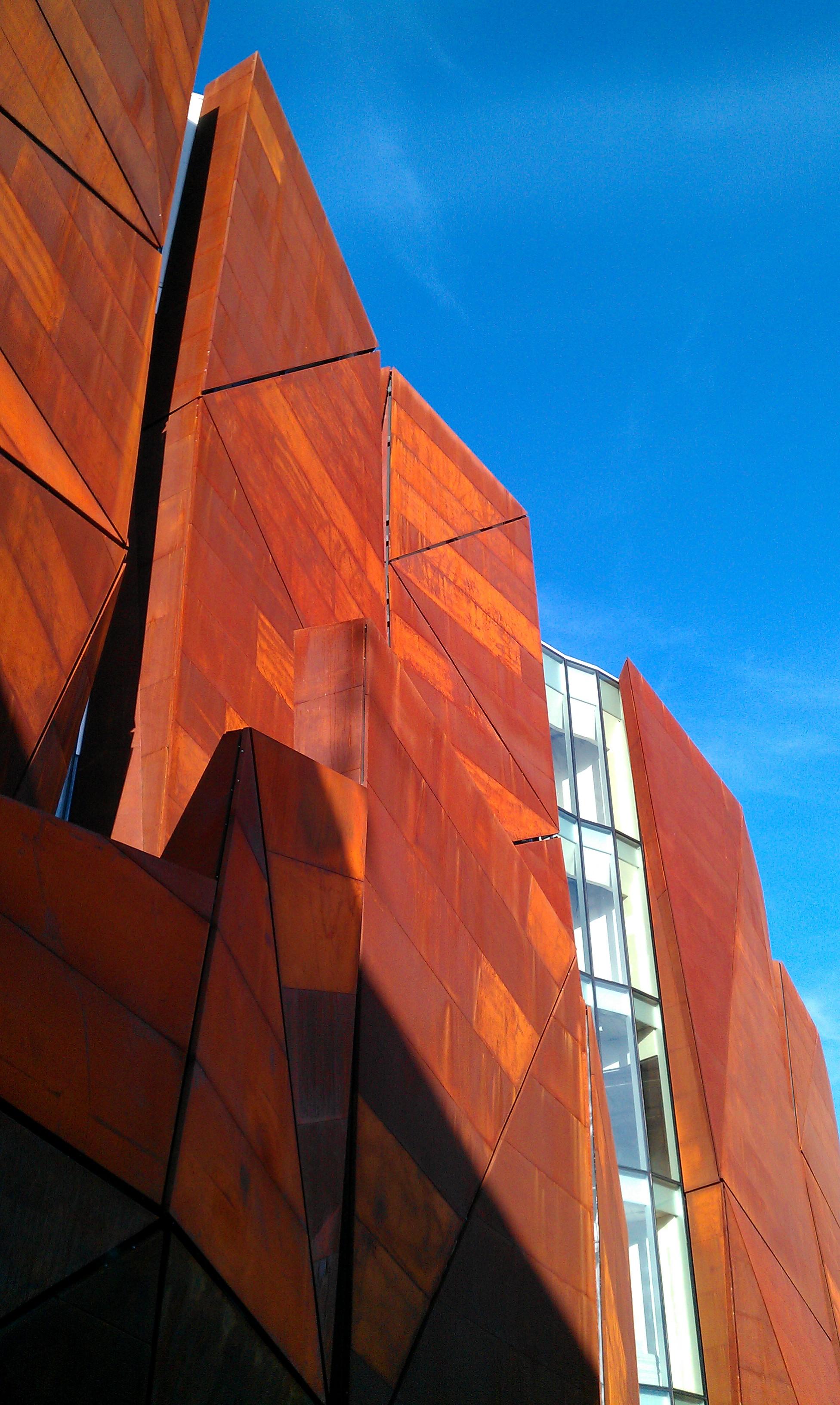 Detalle fachada de la Romo Kultur Etxea
