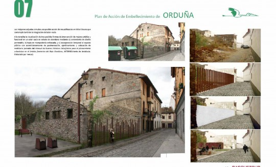 Ficha del Plan de Embellecimiento urbano Orduña