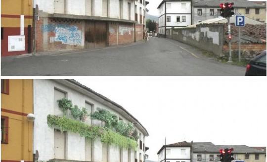 Reordenación tráfico y peatones en borde Casco Histórico de Orduña