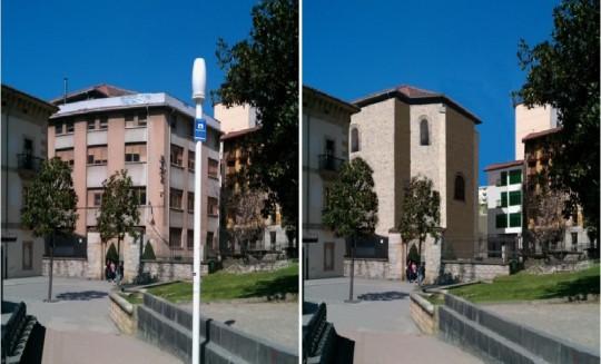 Recuperación de la Iglesia de Santiago Ermua
