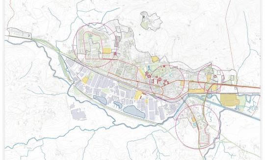 Plano resumen situación actual Gernika