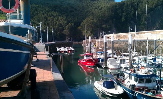 Puerto pesquero de Armintza