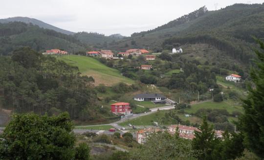 Zona rural de Lemoiz