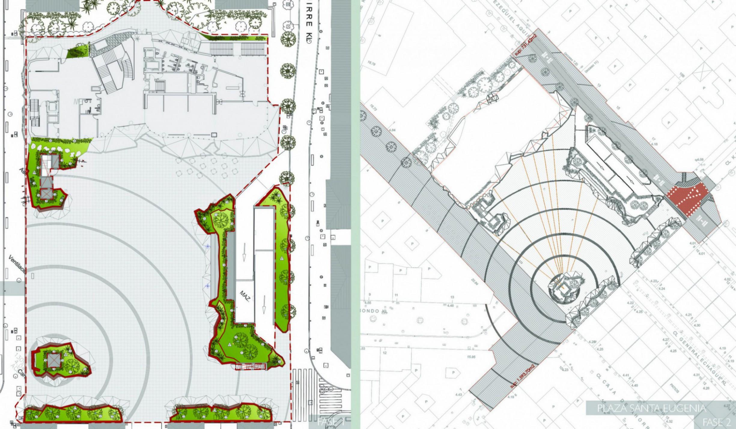 Plano Plaza Romo
