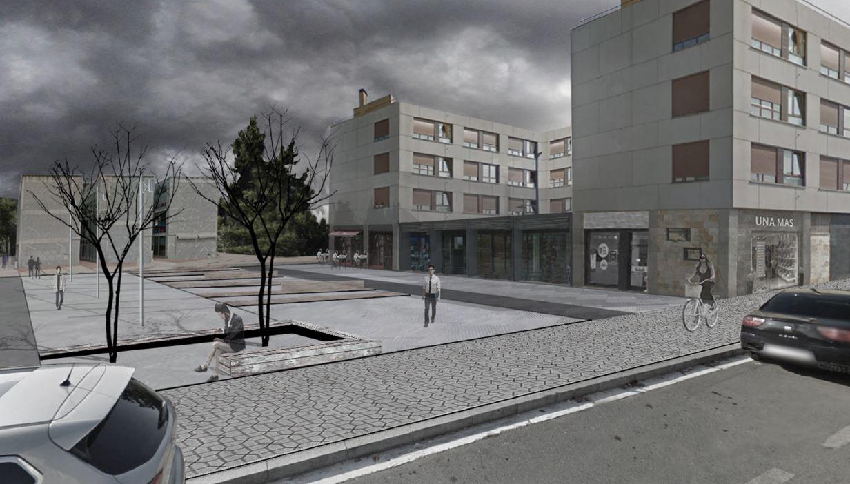 Calle Iruña de Oca