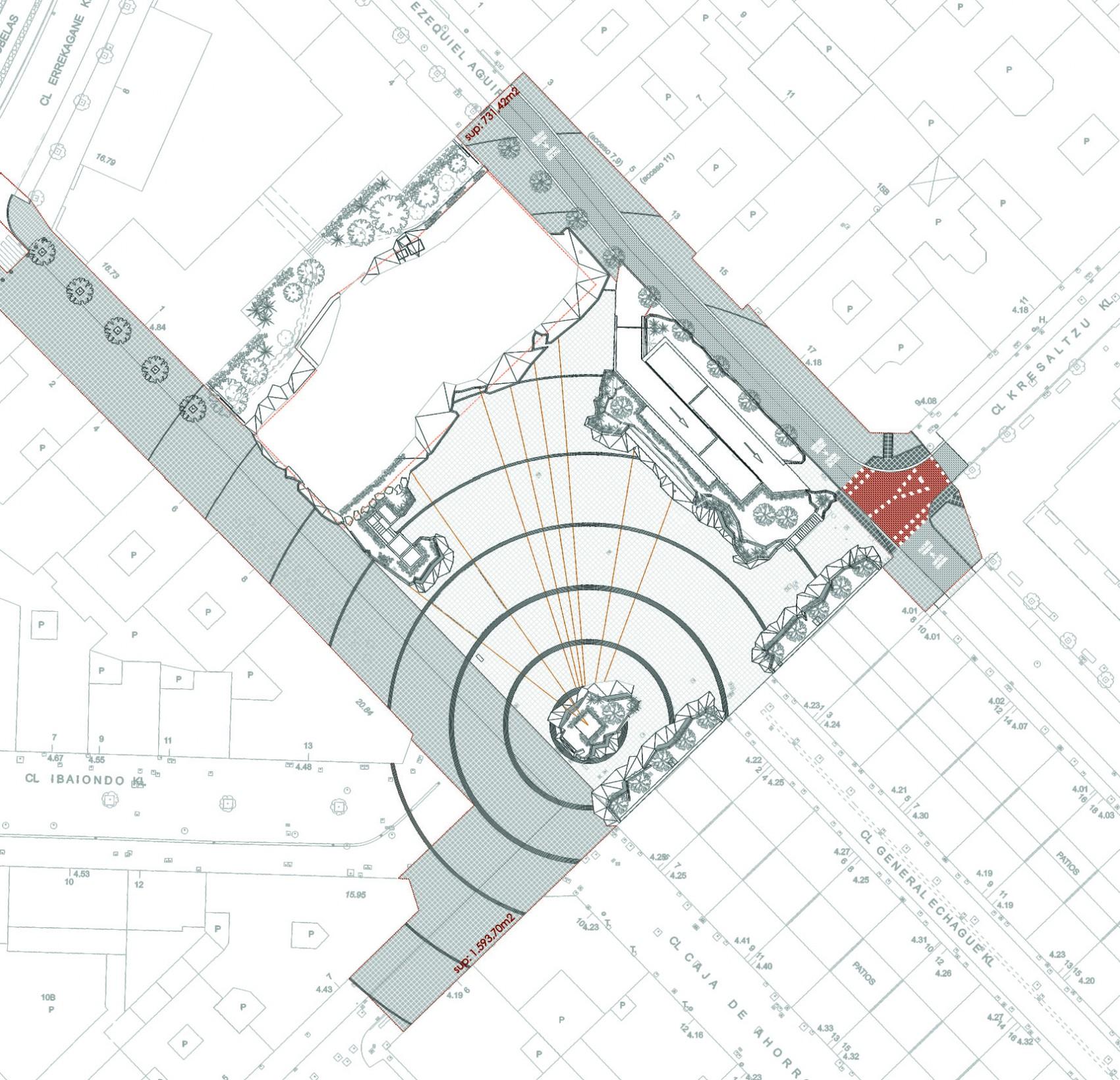 Plano Plaza Santa Eugenia