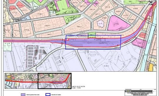 Plano Estación de Gernika